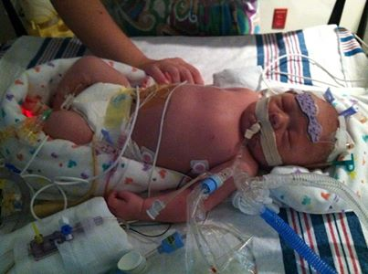 Baby Paisley in the NICU